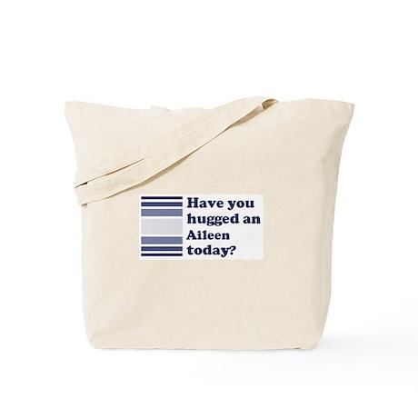 Hugged Aileen Tote Bag