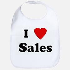 I Love Sales Bib