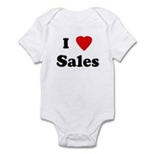 I Love Sales Infant Bodysuit