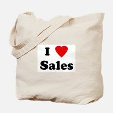 I Love Sales Tote Bag