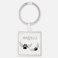 Angel Pet Paws Keychains