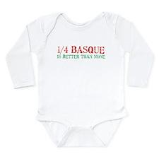 Quarter Basque Body Suit