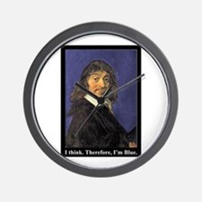 Descartes. I Think. Therefore, I'm Blue. Gear for