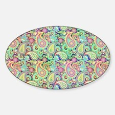 Spring paisley Decal