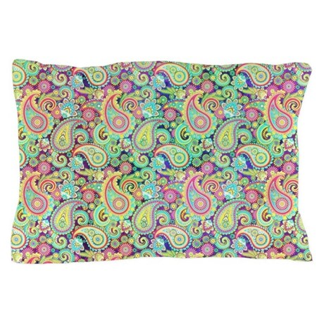 Spring paisley pillow case by admin cp59133934 for White craft pillow cases