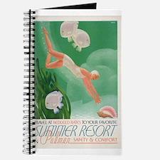 Vintage poster - Summer resort Journal