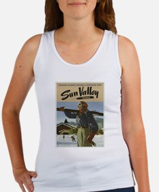 Vintage poster - Sun Valley Tank Top
