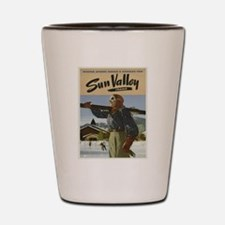 Vintage poster - Sun Valley Shot Glass