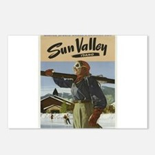 Vintage poster - Sun Vall Postcards (Package of 8)