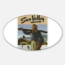 Vintage poster - Sun Valley Decal