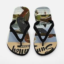 Vintage poster - Sun Valley Flip Flops