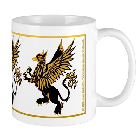 Gryphon Black Gold Mug
