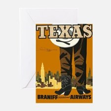 Vintage poster - Texas Greeting Cards