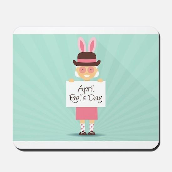 april fools day Mousepad