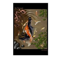 Koi Mermaid Postcards (Package of 8)