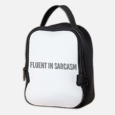 Fluent in Sarcasm Neoprene Lunch Bag