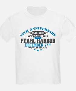 75th Anniversary attack on Pearl Harbor T-Shirt
