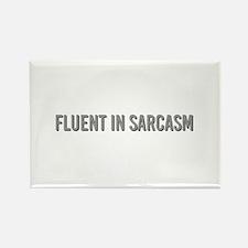 Fluent in Sarcasm Magnets