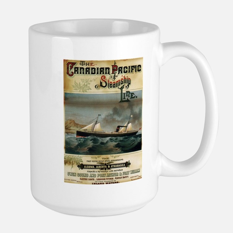Vintage poster - Canadian Pacific Mugs