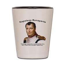 Napoleon Courage Shot Glass