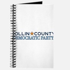 Collin County Democratic Party Logo Journal