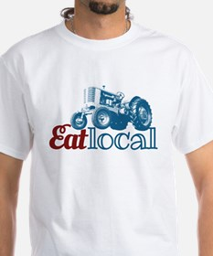 Eat Local Patriotic T-Shirt