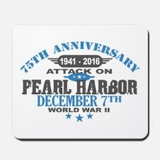 75th Anniversary attack on Pearl Harbor Mousepad