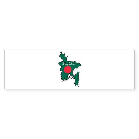 Cool Bangladesh Bumper Sticker