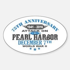 75th Anniversary attack on Pearl Harbor Decal
