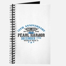 75th Anniversary attack on Pearl Harbor Journal