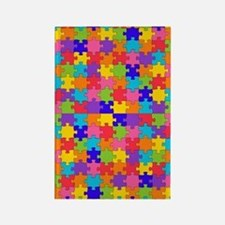Cute Autism advocacy Rectangle Magnet