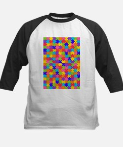 autism puzzle Baseball Jersey