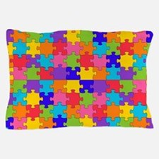 autism puzzle Pillow Case