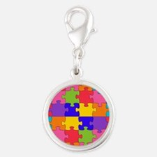 autism puzzle Charms