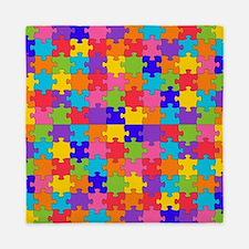 autism puzzle Queen Duvet
