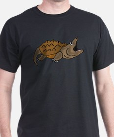 Funky Snapping Turtle T-Shirt