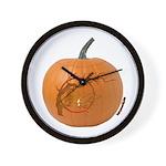 Owl O'Lantern Wall Clock