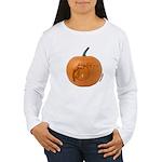 Owl O'Lantern Women's Long Sleeve T-Shirt