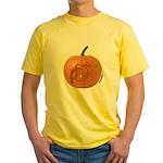 Owl O'Lantern Yellow T-Shirt