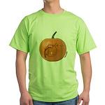 Owl O'Lantern Green T-Shirt