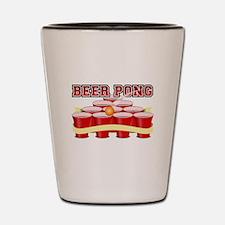 beer pong legend Shot Glass