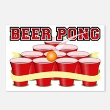 beer pong legend Postcards (Package of 8)