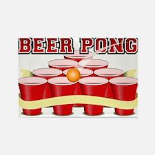 beer pong legend Magnets
