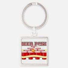beer pong legend Keychains