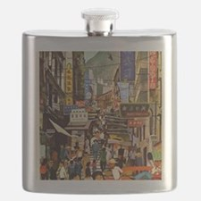 Funny Asia Flask