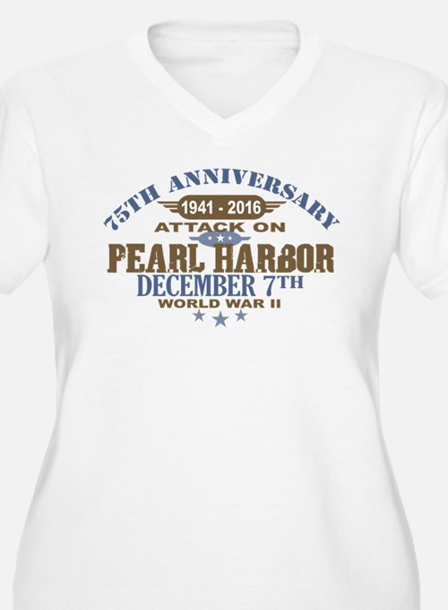 Pearl Harbor Anniversary Plus Size T-Shirt