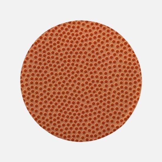 Basketball Texture Button