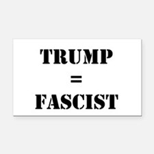 Funny Fascist Rectangle Car Magnet