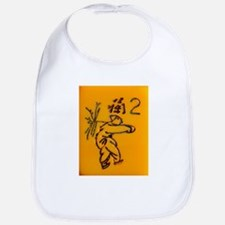 Mahjong Tile: /chinese flower Bib