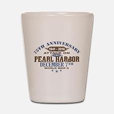 Pearl Harbor Anniversary Shot Glass